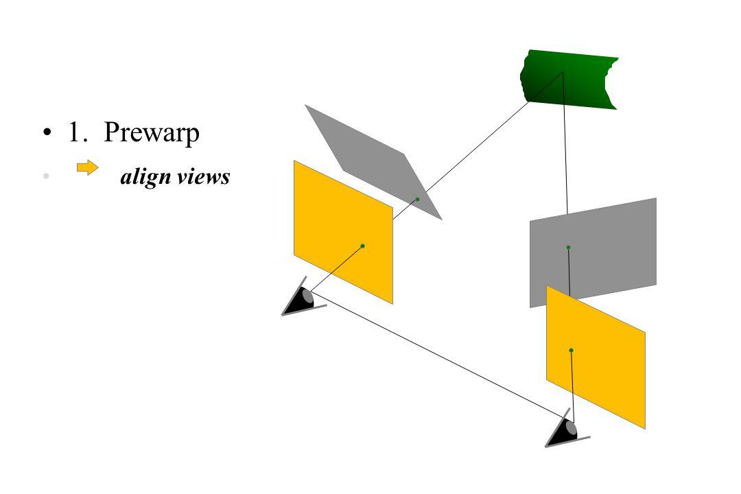 1. Prewarp align views