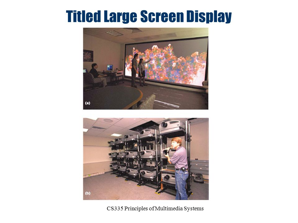 CS335 Principles of Multimedia Systems Titled Large Screen Display