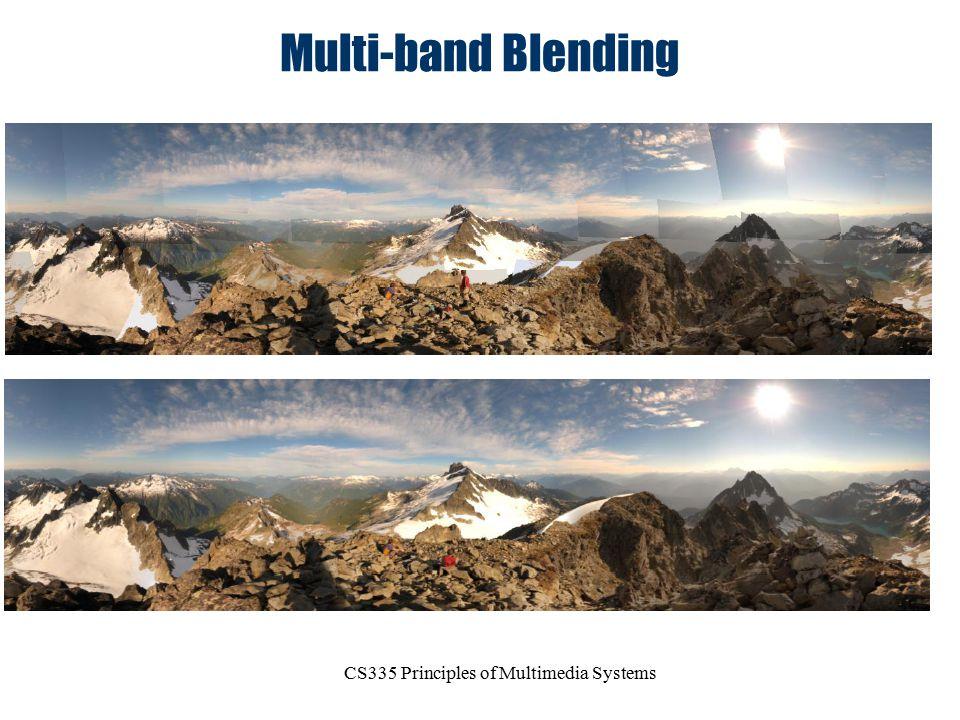 CS335 Principles of Multimedia Systems Multi-band Blending