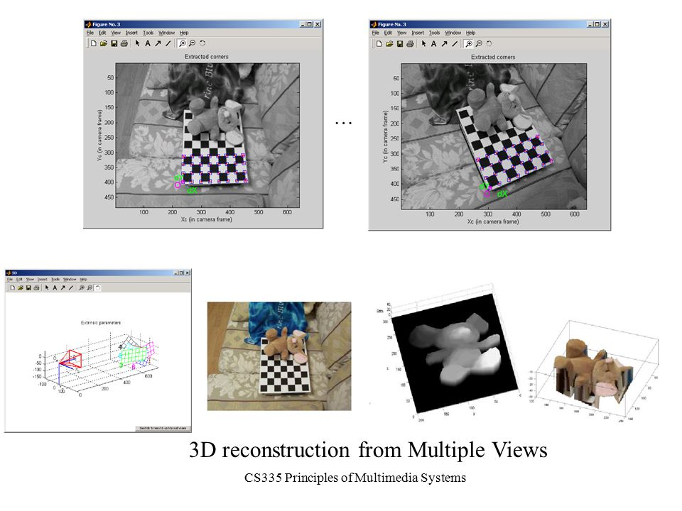 CS335 Principles of Multimedia Systems 3D reconstruction from Multiple Views