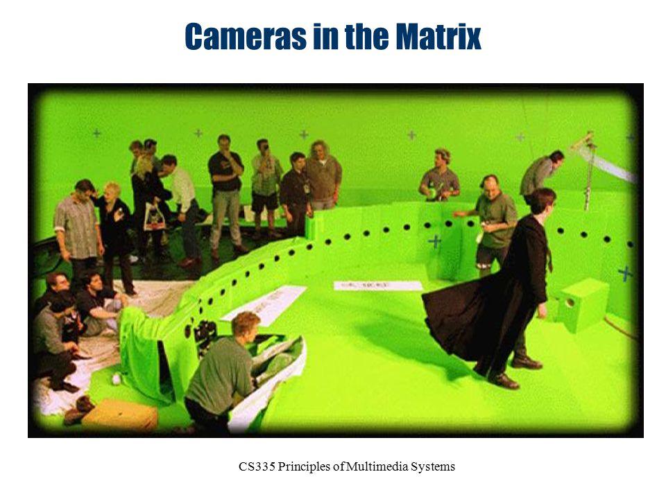 CS335 Principles of Multimedia Systems Cameras in the Matrix