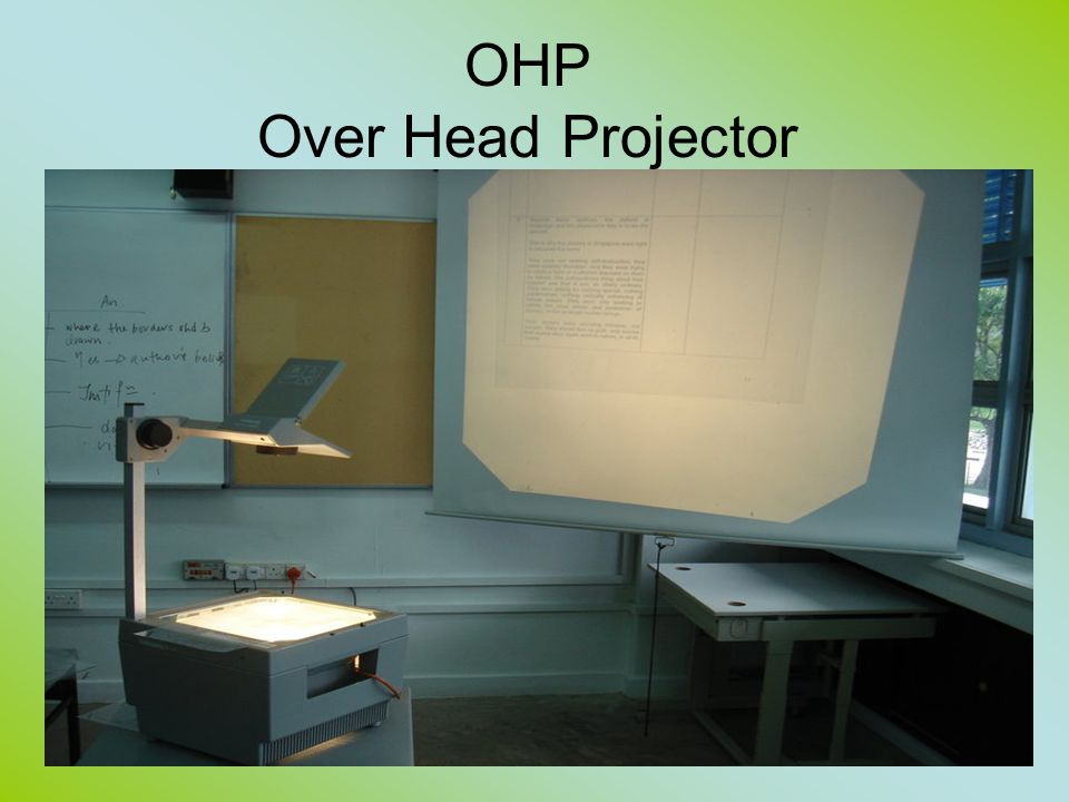 OHP Over Head Projector