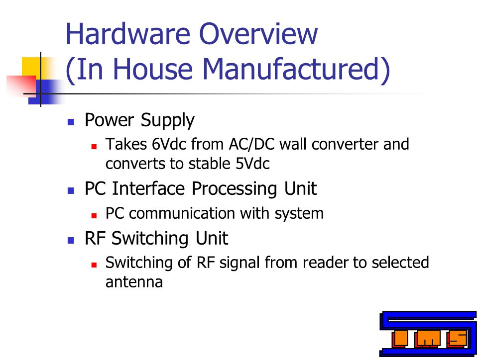 TI RFID HF Transponders Transponders Receives 13.56MHz of the signal from the reader, and sends back a signal to the reader Consists of a loop antenna and a chip microprocessor