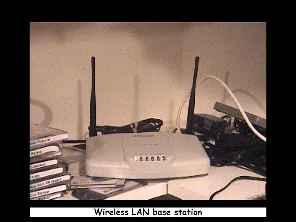 Wireless LAN base station