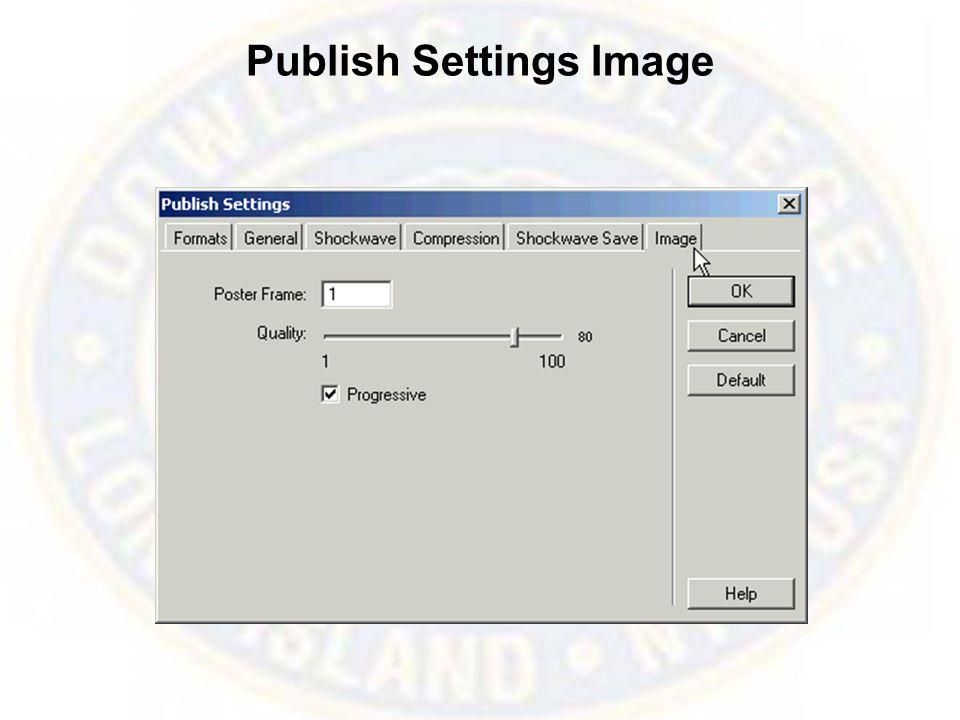 Publish Settings Image