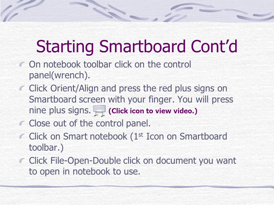On notebook toolbar click on the control panel(wrench).