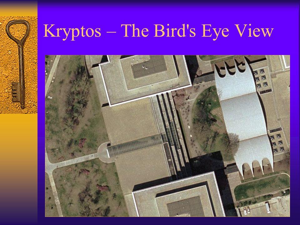 Kryptos – The Bird's Eye View