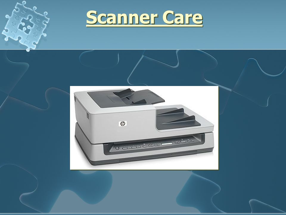 Scanner Care
