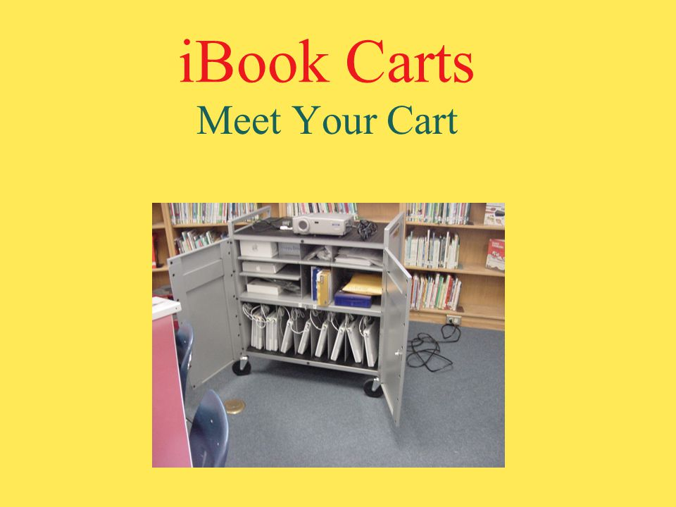iBook Carts Meet Your Cart
