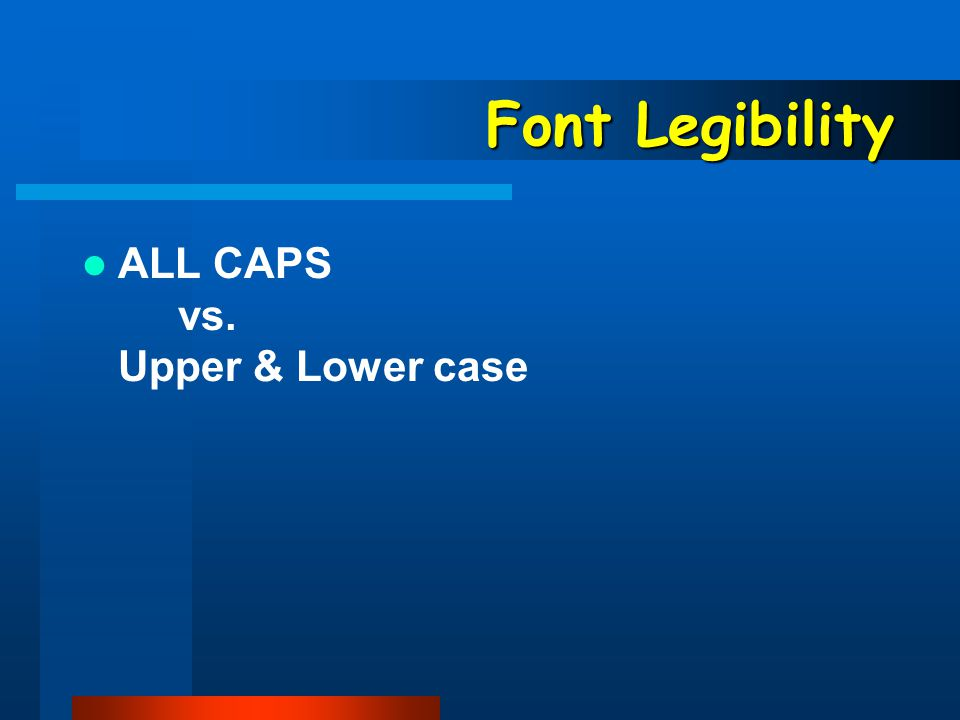 Font Choose font size and type for your particular context.