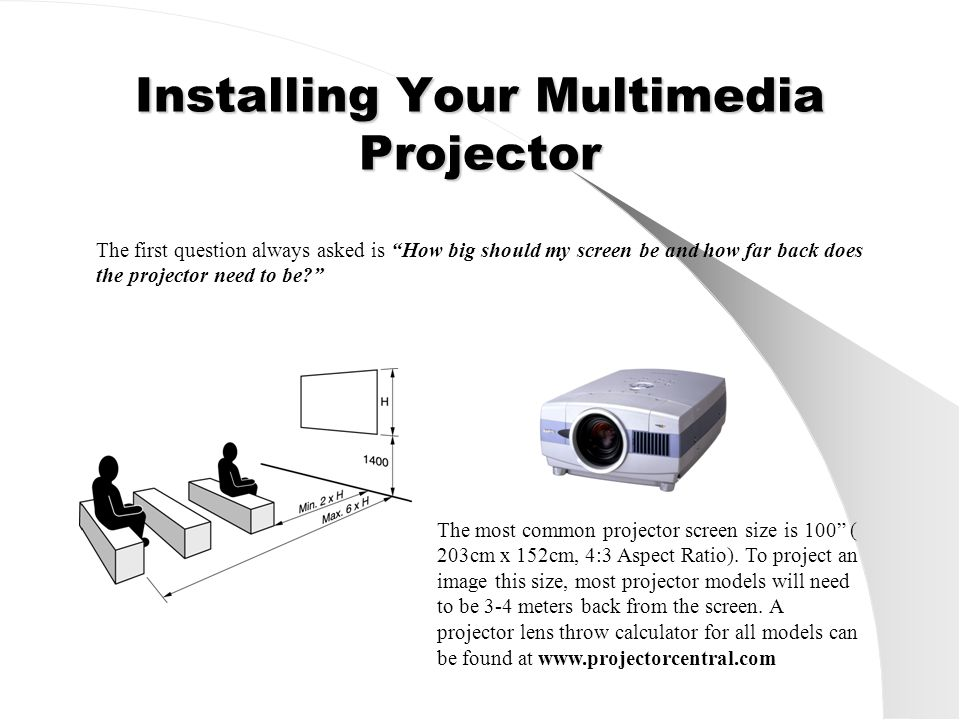 Other Key Features To Consider Lamp Life – Good multimedia projectors will have a lamp life of 2000-3000 hours with the projector having an optional 'Eco mode' to reduce brightness by 20% when not required.