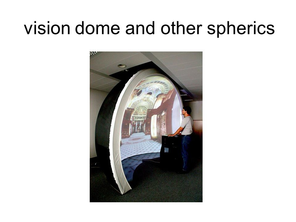 vision dome and other spherics