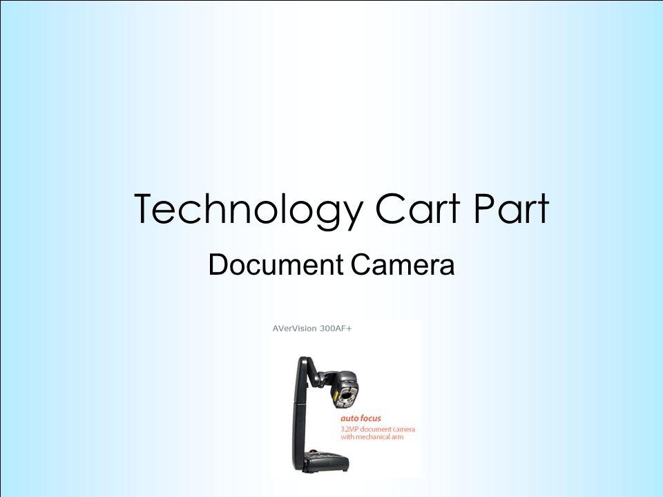 Document Camera Technology Cart Part
