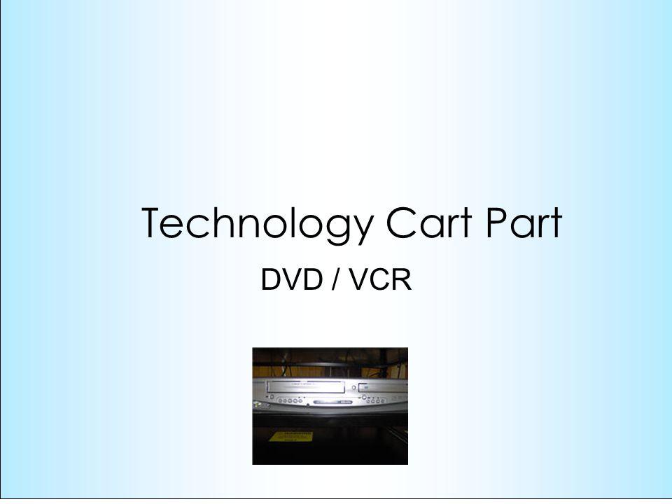 DVD / VCR Technology Cart Part