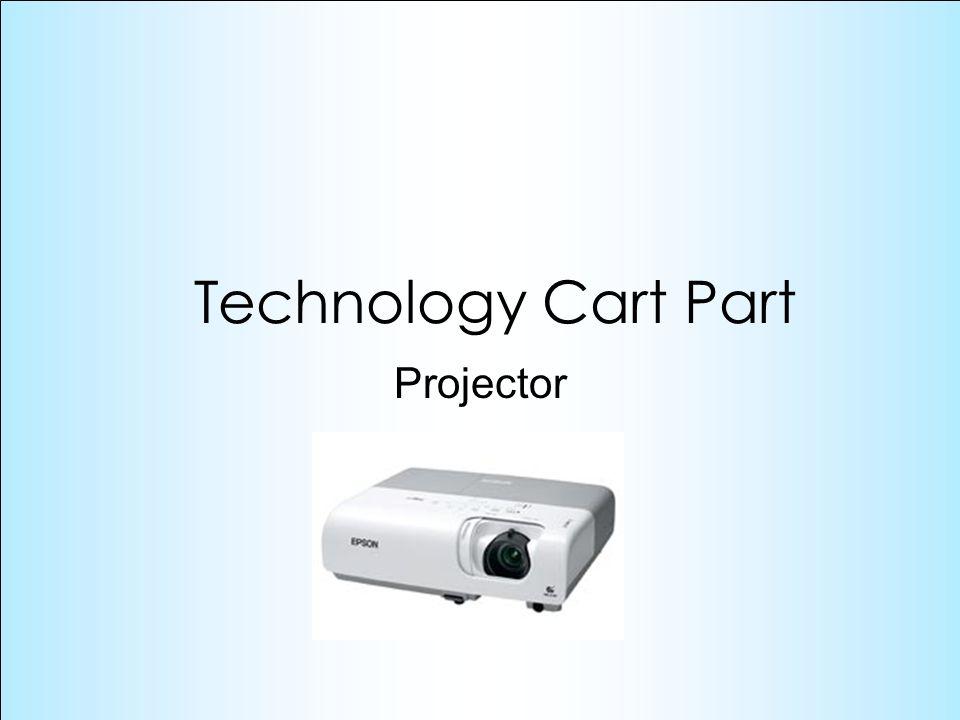 Projector Technology Cart Part