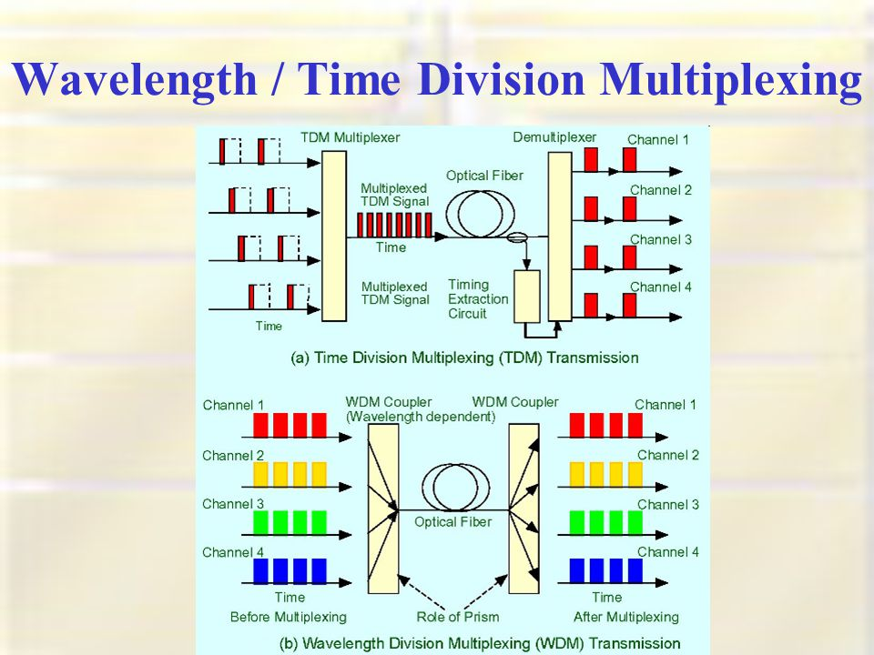 Wavelength / Time Division Multiplexing