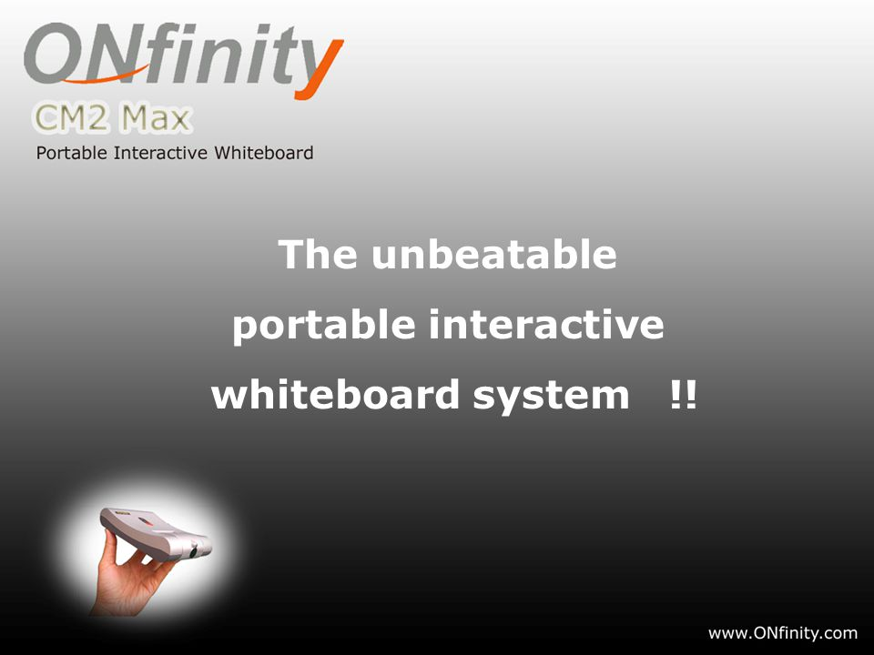 The unbeatable portable interactive whiteboard system !!