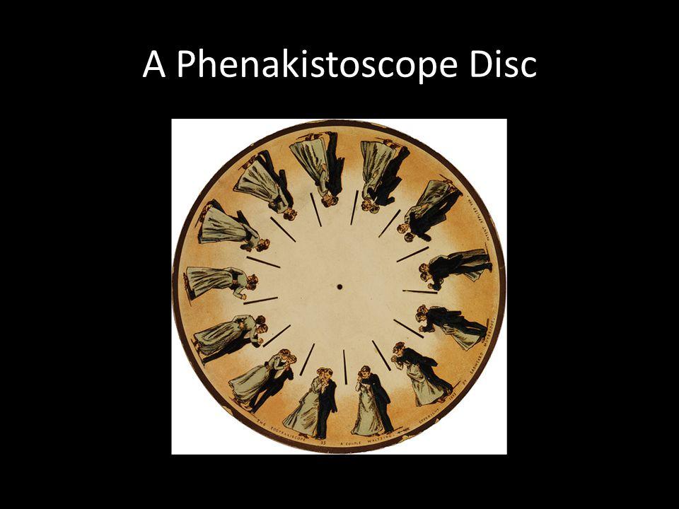 A Phenakistoscope Disc