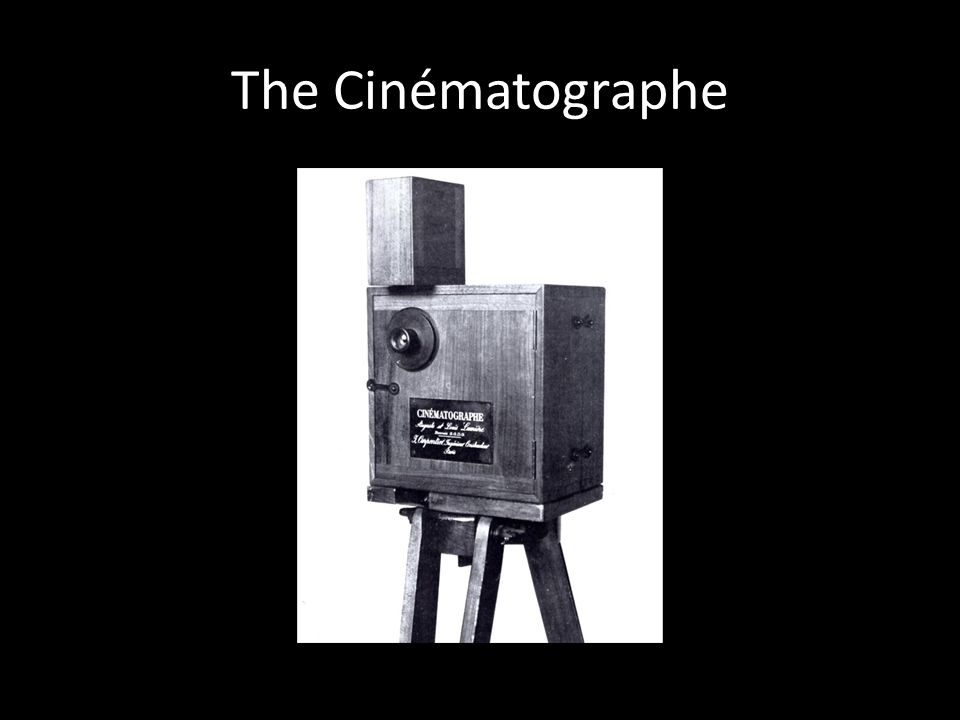 The Cinématographe