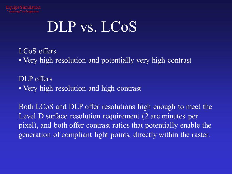 DLP vs.