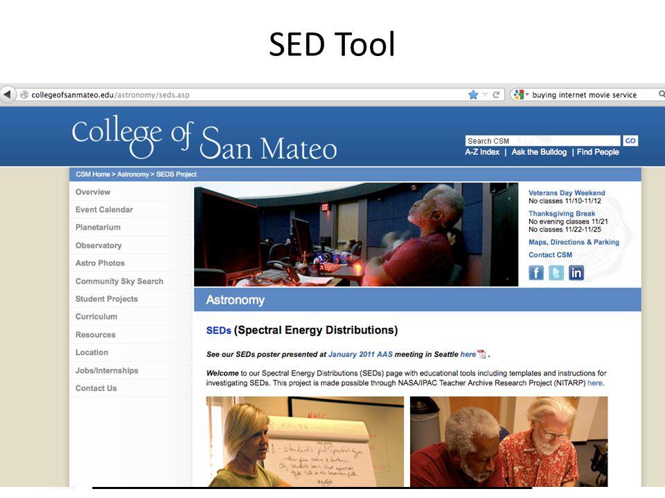SED Tool