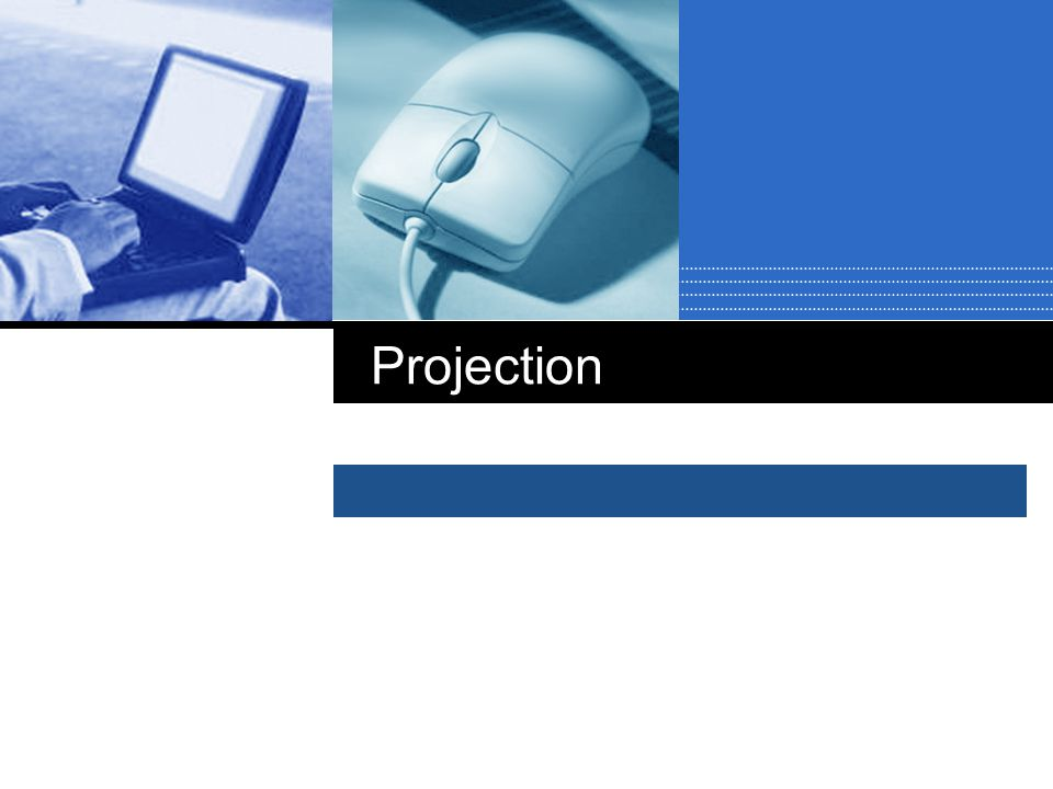 Parallel projection  2 principle types:  orthographic and oblique.