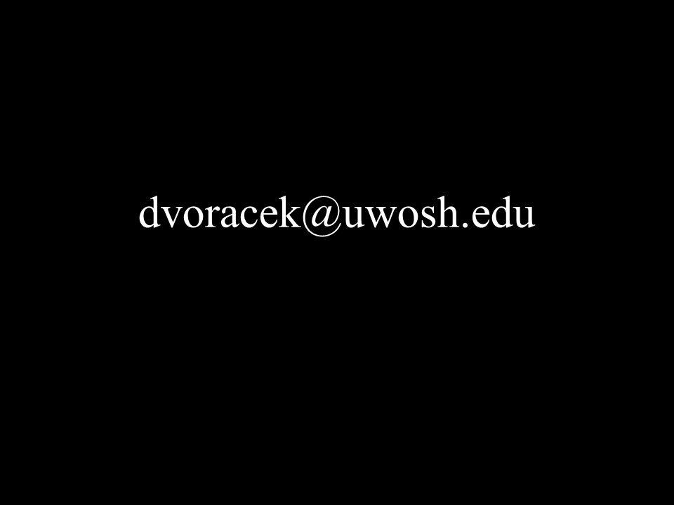 dvoracek@uwosh.edu