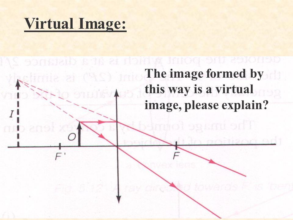 To find the focal length of a convex lens: §Approximate method Place a screen at the back of a convex lens.