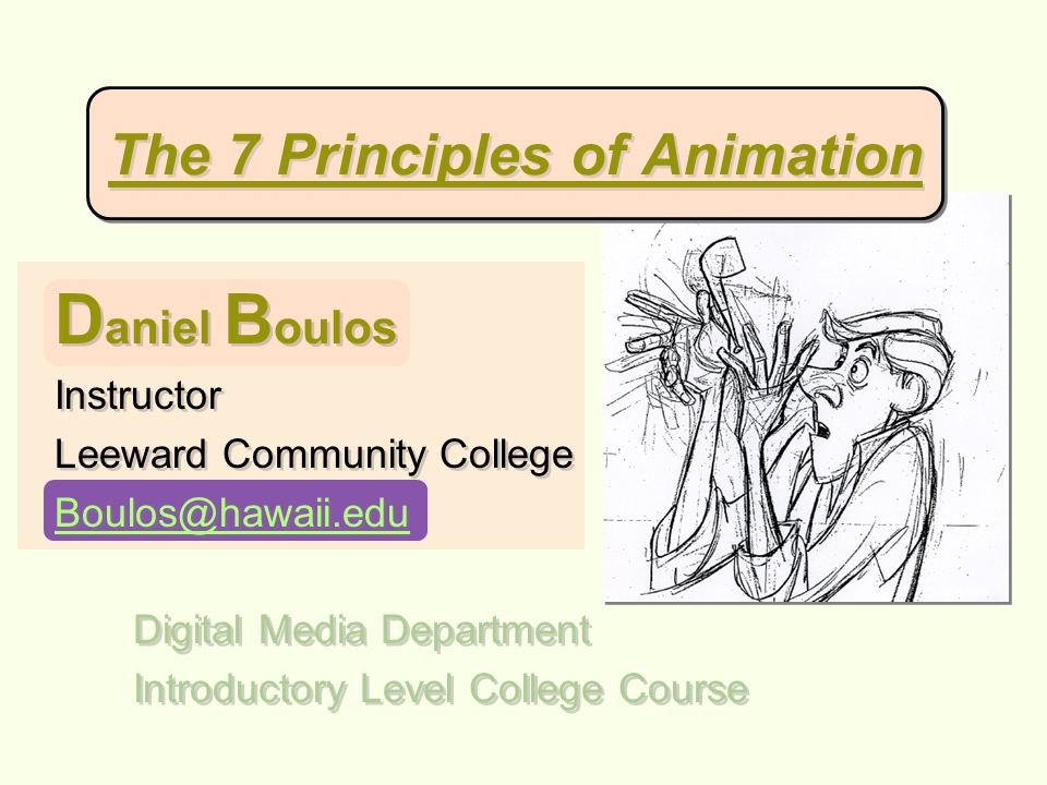 C onclusion Animation Principles At Work Courtesy of WikiWiki Cartoons 7 7