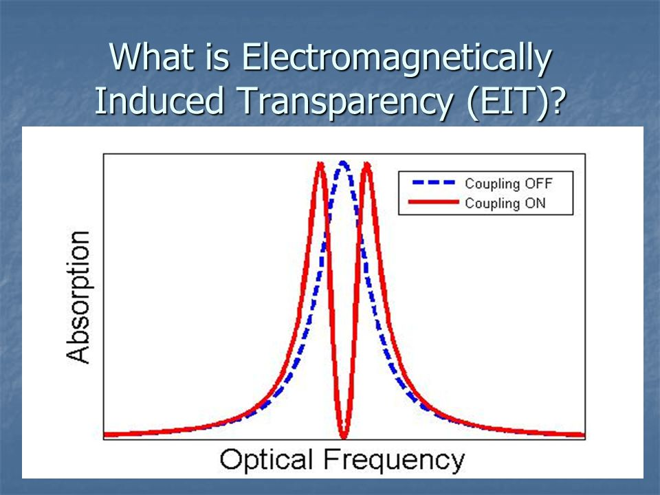 What is Electromagnetically Induced Transparency (EIT)