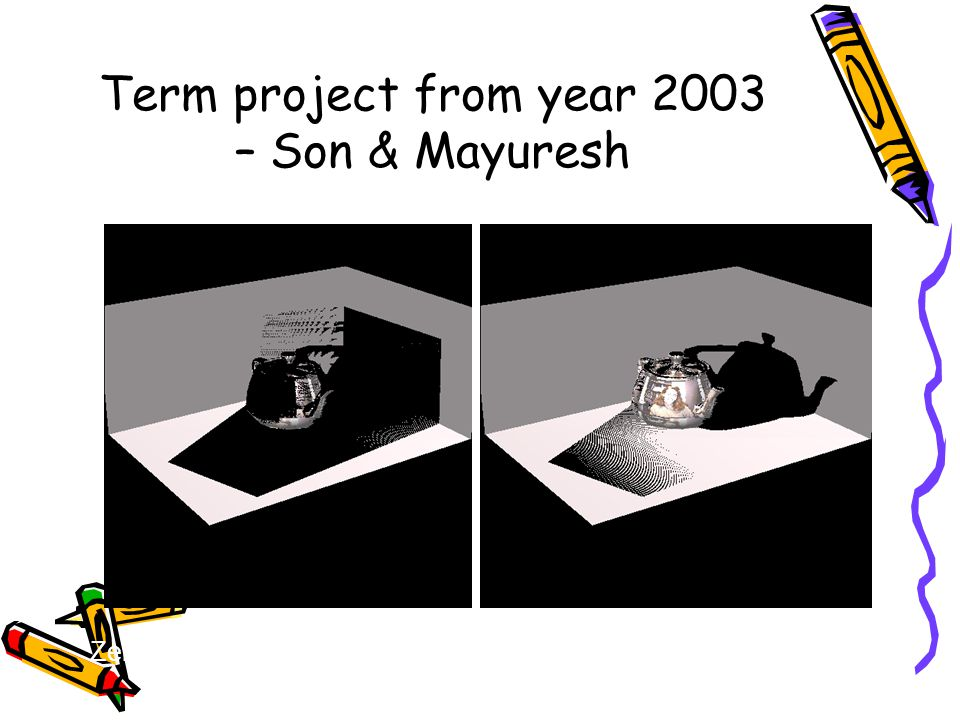 Term project from year 2003 – Son & Mayuresh Zero Error Compensation Some Error Compensation