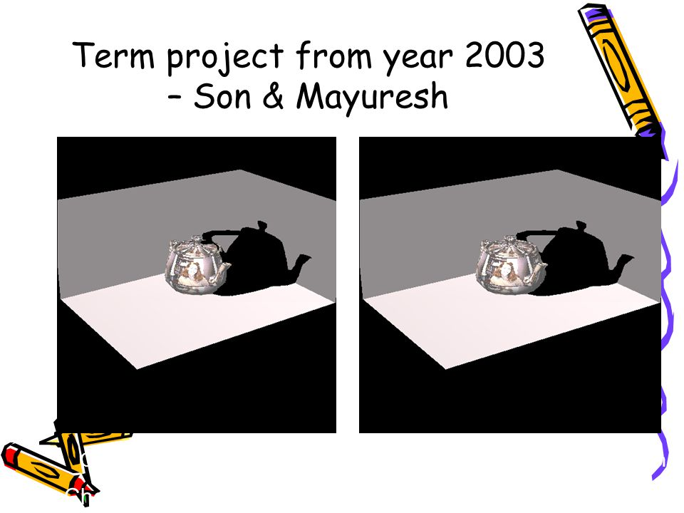 Term project from year 2003 – Son & Mayuresh Choosing the good error value : Trial And Error Method. Optimum Error CompensationToo Much Error Compensa