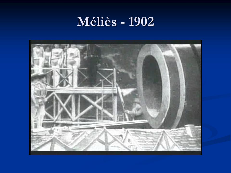 Melies and others followed the Lumieres and showed movies in theatres.
