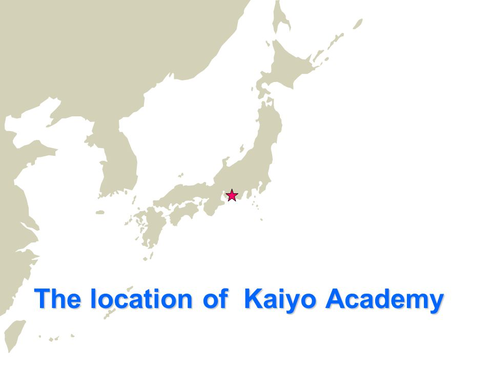 The location of Kaiyo Academy