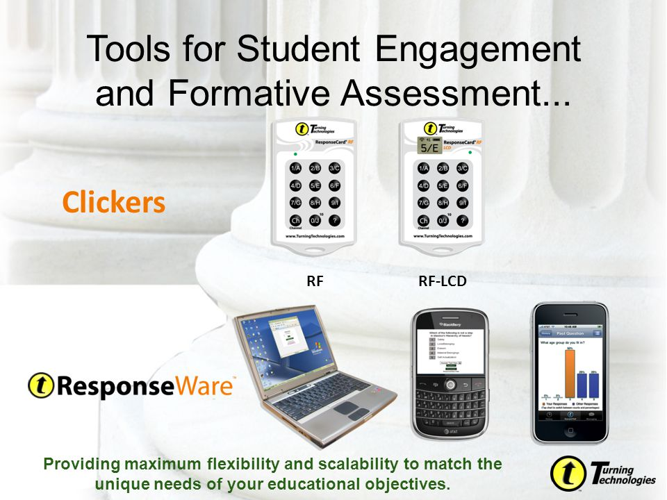 Tools for Student Engagement and Formative Assessment...