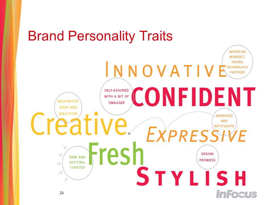 24 Brand Personality Traits