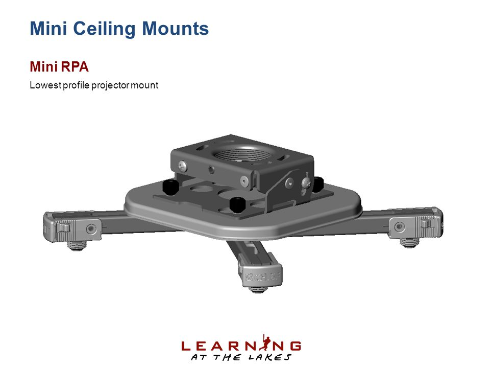 Mini Ceiling Mounts Mini RPA Lowest profile projector mount