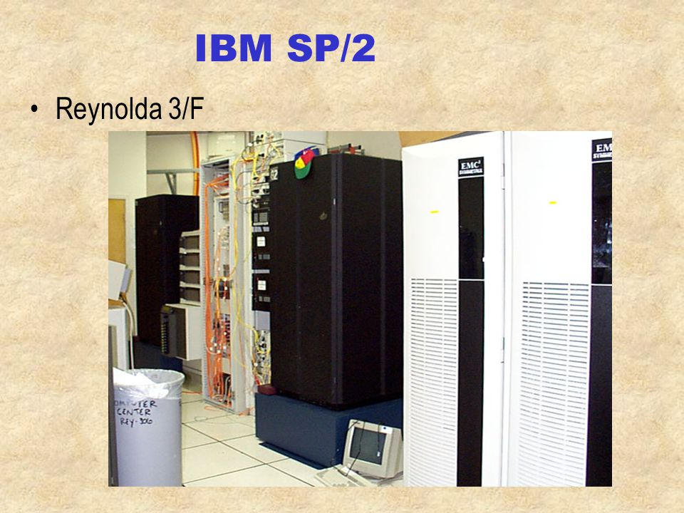 IS server architecture Two IBM RS/6000 SP/2 - AIX –ac, mail, news, IBM/Lotus Domino 4.52, Powered by Notes IBM RS/6000 F50 - AIX –Web server IBM PC servers –NT network, other servers Admin HP 3000 959 K class Library HP 9000 852 Health HP 922