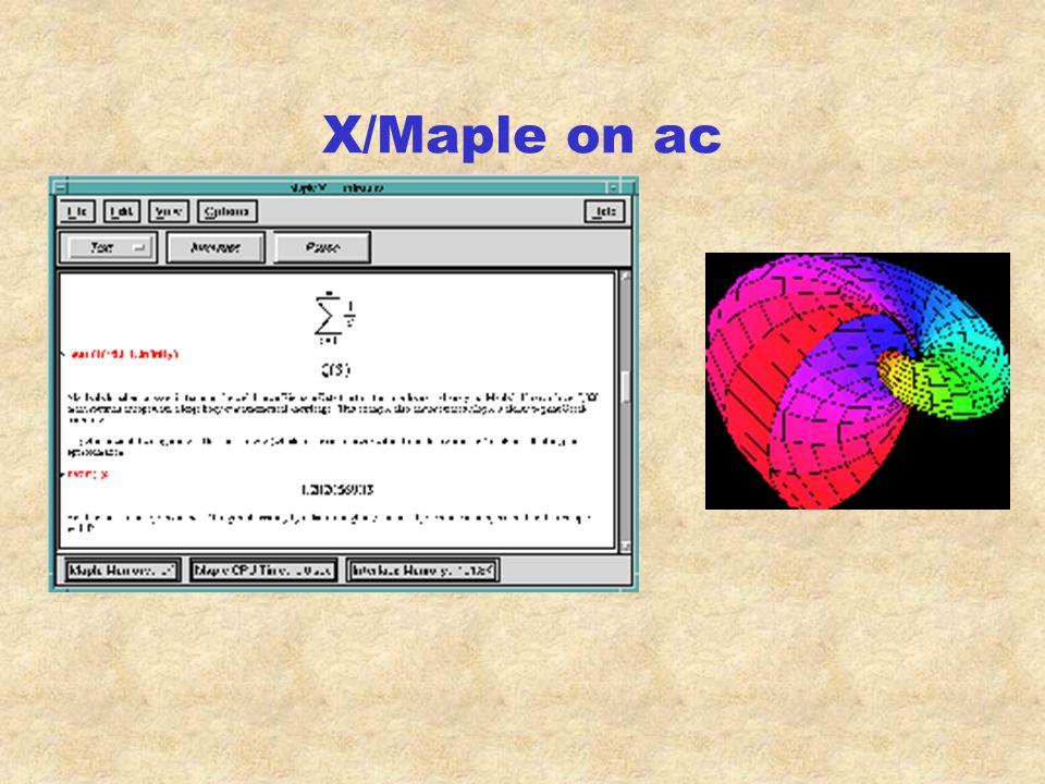 X to ac Exceed 6 w/ X11R6.3 (Broadway)