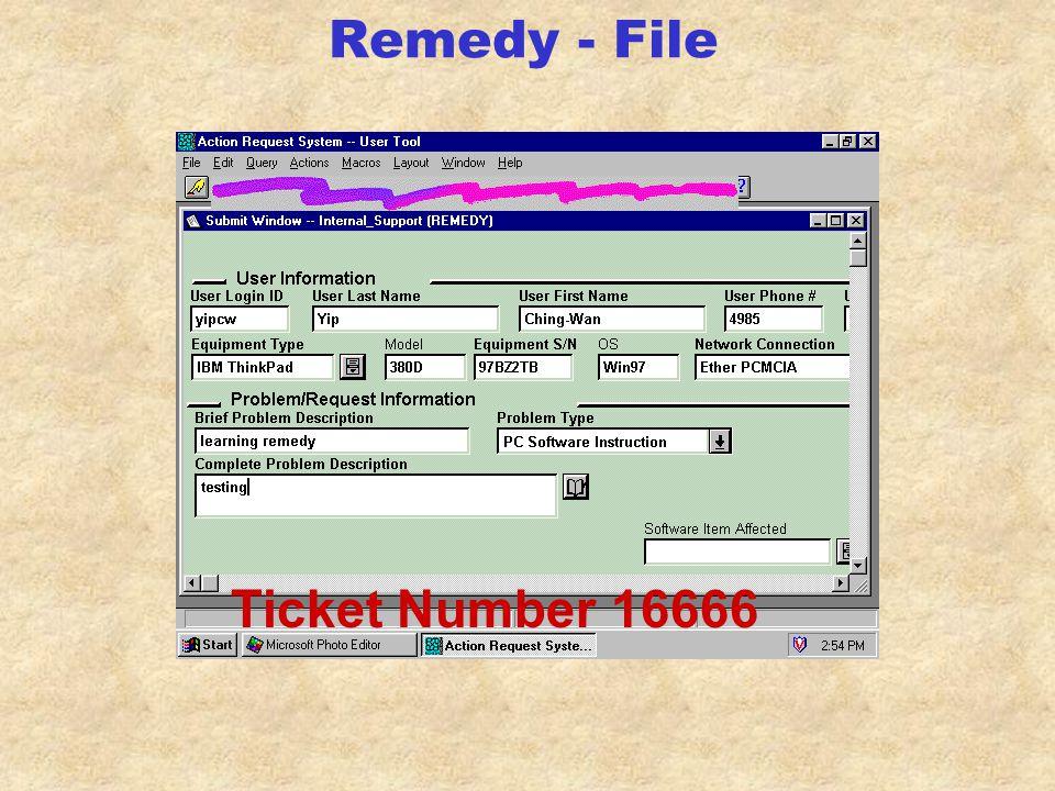 Remedy - Schema