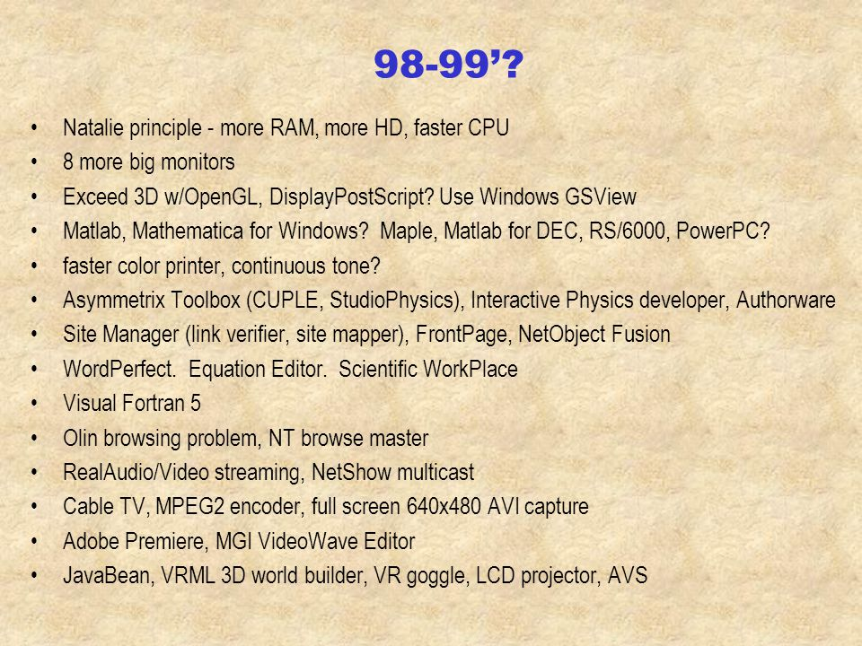instructional software Lab - PASCO Science Workshop Intro - ActivPhysics, InteractivePhysics, Modern Physics Desktop Electronics - circuit maker Astronomy - SkyGlobe 16-bit Windows/DOS etc.