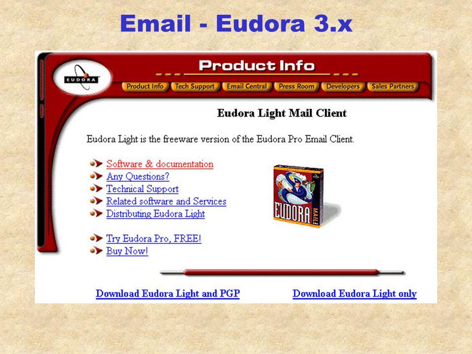 Email - Eudora 1.5.4