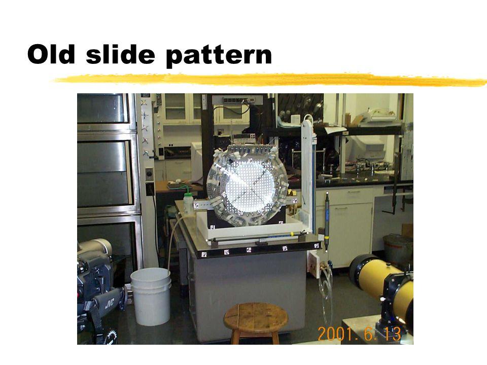 Old slide pattern