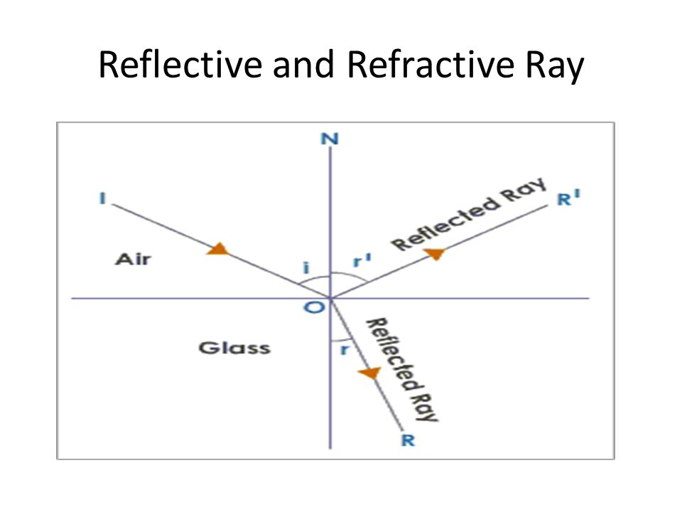 Reflective and Refractive Ray