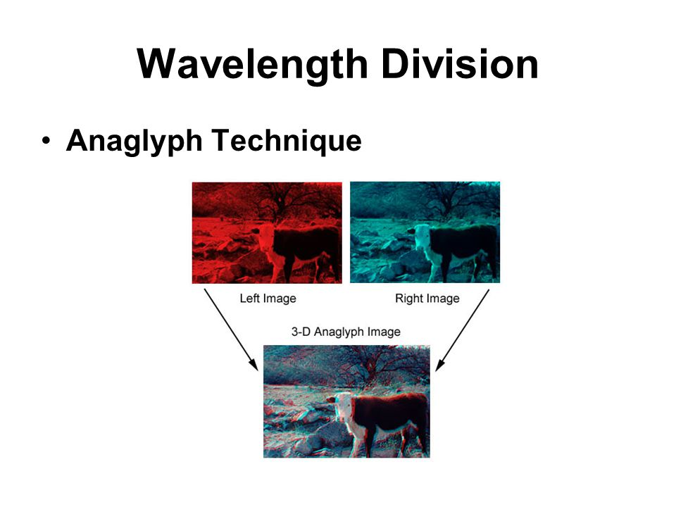 Wavelength Division Anaglyph Technique