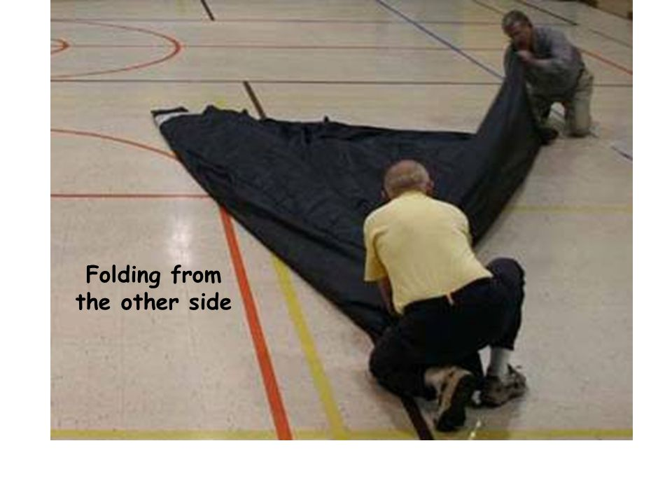 Folding from the other side