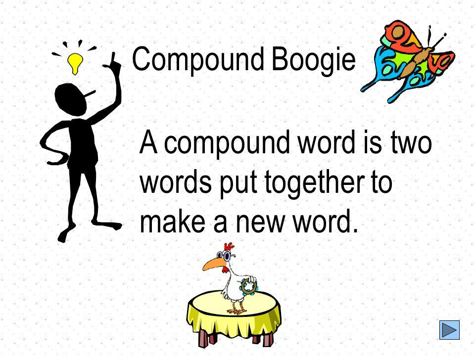Grade: 1st Grade Compound Words Lesson Plan 1st Grade ELA Standards I.