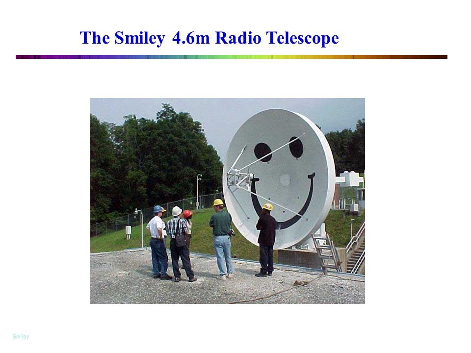 """The 4.6-m Radio Telescope """"Smiley"""" The Smiley 4.6m Radio Telescope Smiley"""