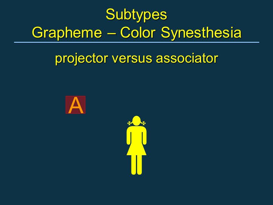 projector versus associator A 