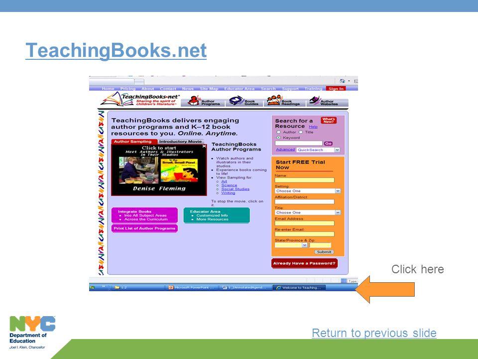 TeachingBooks.net Click here Return to previous slide